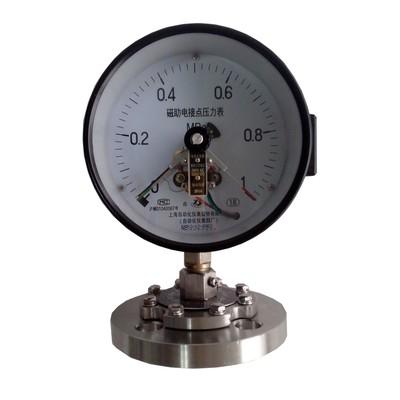 YXC-150MF電接點隔膜壓力表