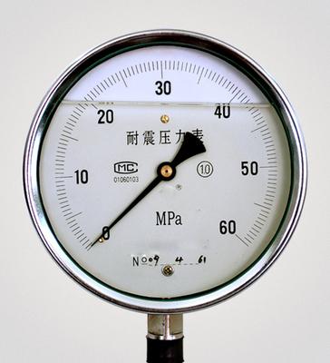 不鏽鋼耐震壓力表Y-150BFZ 上海自動化儀表四廠