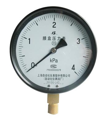 YE-150膜盒壓力表