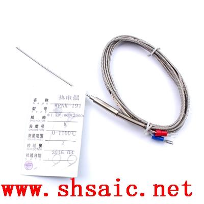 WREK-382可動卡套螺紋裝置式電熱偶