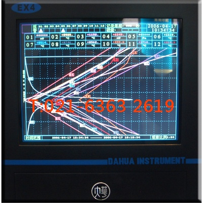 EX4B彩色無紙記錄儀