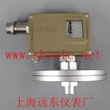 0815108 D501/7DZ双触点压力控制器0-0.01MPaG1/4-上海上仪企业