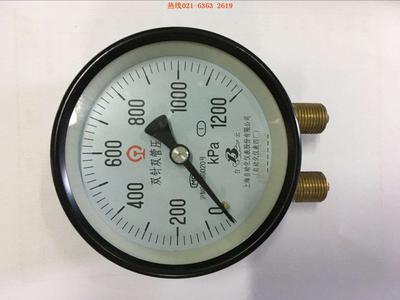 YZS-102双管双针压力表