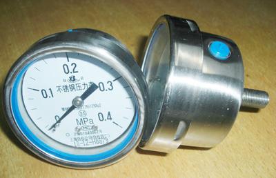 Y-63B-FZ不锈钢压力表 上海自动化仪表四厂