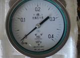 不锈钢轴向带边耐震压力表Y-103BFZ