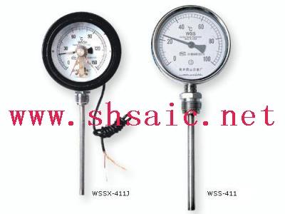WSSX-451电接点角型温度计