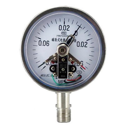 YXC-100B-F磁助电接点压力表