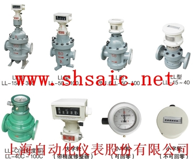 LL-100D腰轮流量计-上海上仪企业