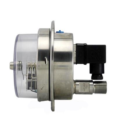 YXC-152B-F磁助电接点压力表