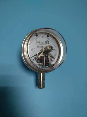 Y-100B-FQ安全型不锈钢压力表