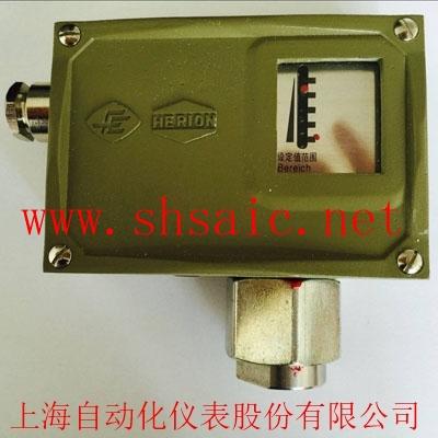 上海自动化仪表-0851780D502/7D防爆压力控制器