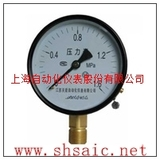 Y-63B-FZ不锈钢压力表-上海自动化仪表厂