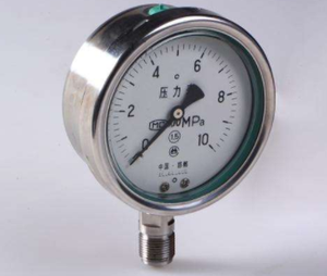 Y-63B-FZ不锈钢压力表