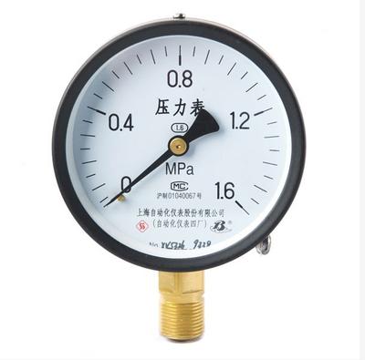 普通压力表 Y-60 上海自动化仪表四厂