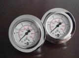 YPF-100B-F 不锈钢膜片压力表